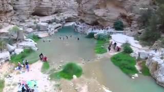 وادي شاب .. من جمال الطبيعة في سلطنة عمان wadi shab
