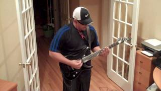 Parkway Drive - Unrest Guitar Cover by Freddy Delacruz.  Deep Blue - June 29, 2010