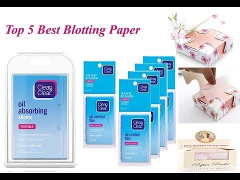 Top 5 Best Blotting Paper