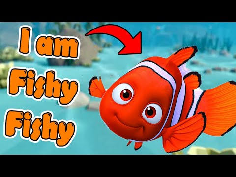 Living The Hard Life Of A FISH 🐟 [ I Am Fish] (Funny Moments)