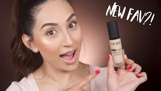 NEW LA GIRL PRO MATTE FOUNDATION | FIRST IMPRESSION + REVIEW | BEAUTYYBIRD