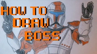 How to Draw Boss from Republic Commando