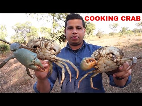 Cooking Crab Curry – Crab Recipe – Crab Curry South Indian Style – How to Clean and Cook Crabs