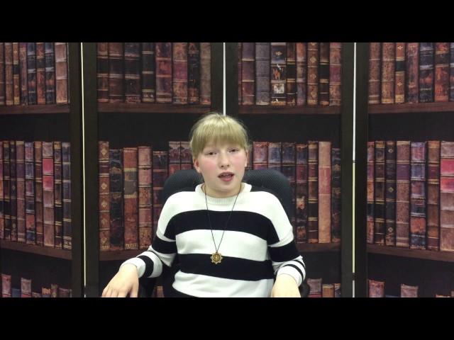 Изображение предпросмотра прочтения – АлисаРодкина читает произведение «Когда былые дни я вижу сквозь туман…» В.Я.Брюсова