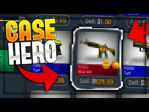 CSGO CASE HERO - MY BEST UNBOXING!!! (CS:GO CASE SIMULATOR)