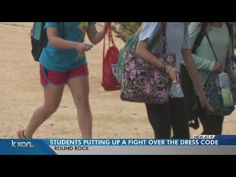 Round Rock High School students start petition due to dress code enforcement
