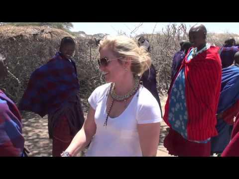 Masai Village in the Serengeti National Park - Tanzania