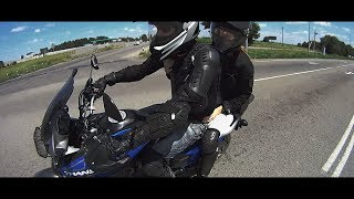 Honda Transalp XL700 покатушки мини клип | slow motion action cam(Покатушки на Honda Transalp XL700 Honda Transalp XL700 Slow motion action cam Ни на что не претендую, просто для мототоксикоза летнее..., 2014-01-31T20:55:40.000Z)