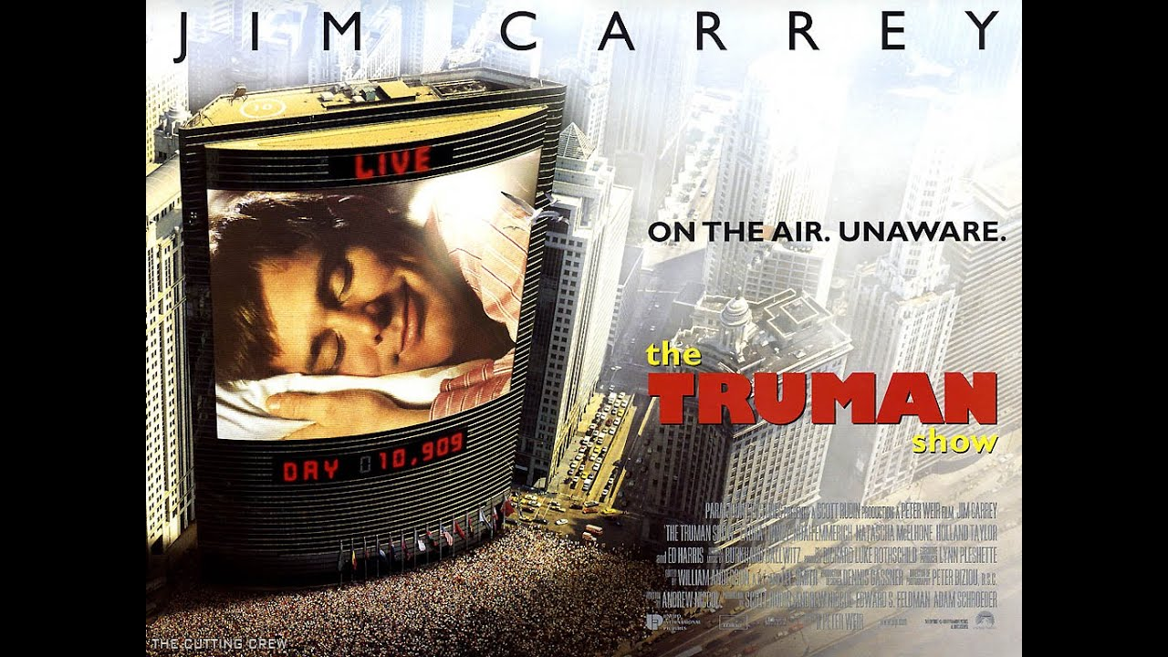 I need help with a very in depth essay on the Truman Show and what is says...?