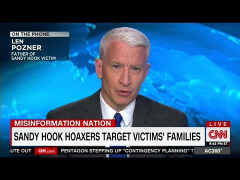Anderson Cooper discusses Hoaxers with Len Pozner (FULL Interview)