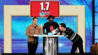 Sean Hayes and Adam Devine Play '5 Second Rule'