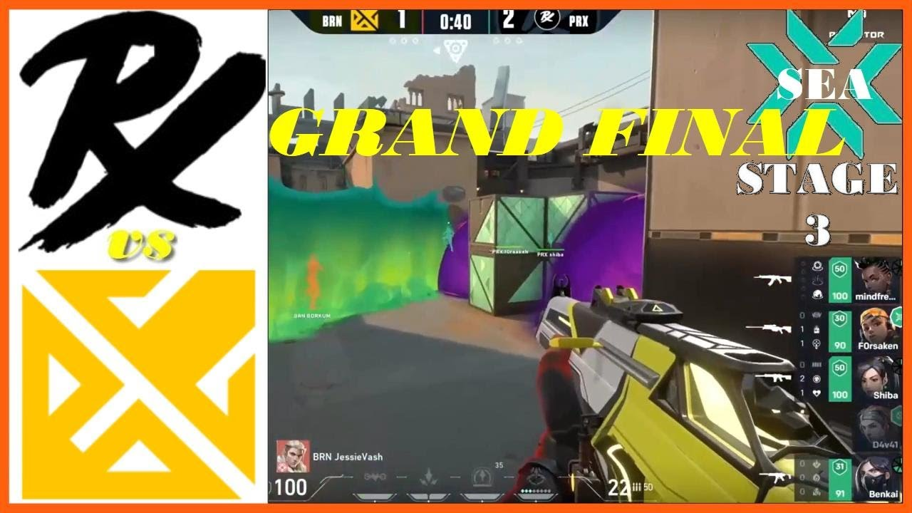 Download Paper Rex vs Bren Esports | Grand Final | HIGHLIGHTS | VCT 2021 SEA Stage 3 Challengers Playoffs.