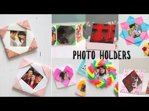 Easy DIY Photo Holders
