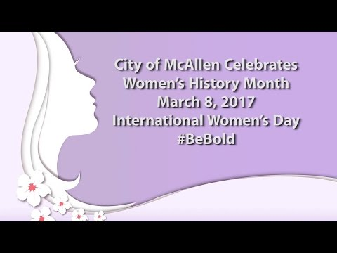 City of McAllen International Women's Day