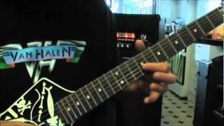 How to play Van Halen's Women In Love on guitar part 1