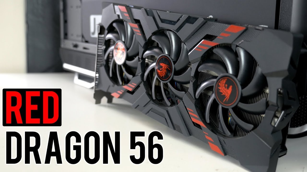 PowerColor Red Dragon RX Vega 56 Review and Gaming