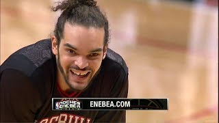 Repeat youtube video 2014.03.02 - Joakim Noah Triple-Double Full Highlights vs Knicks - 13 Pts, 14 Assists, 12 Reb