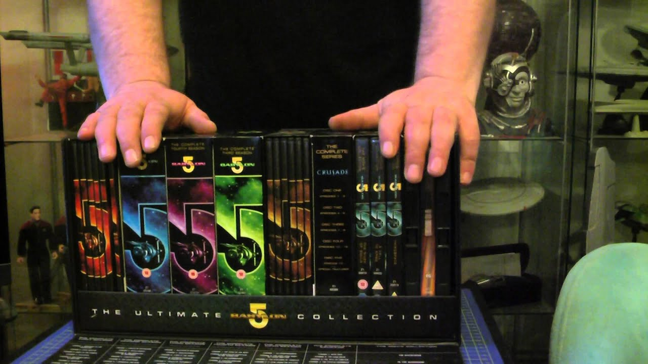 THE ULTIMATE BABYLON 5 DVD COLLECTION BOX SET SERIES 1 TO