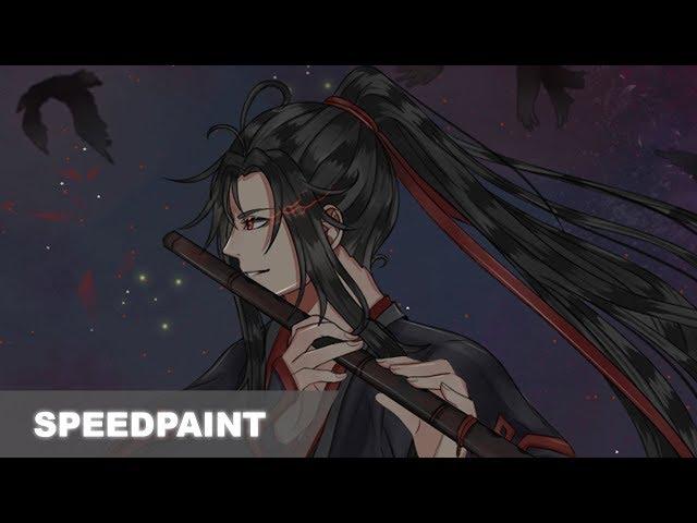 ?SpeedPaint??Wei Wuxian ??? - Mo Dao Zu Shi - Fanart