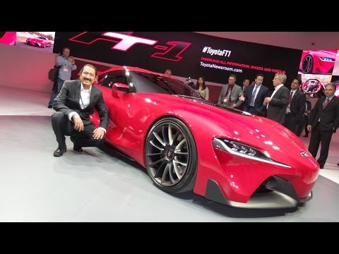 Saudi Auto-Toyota FT-1 Concept at NAIAS,Detroit. الاختبارية في معرض ديترويت FT-1 سعودي أوتو- تويوتا