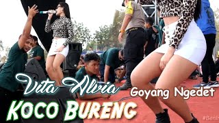 Download Mp3 Vita Alvia - Koco Bureng  Live  Trijati | Melon Music | Baladadewa Audio