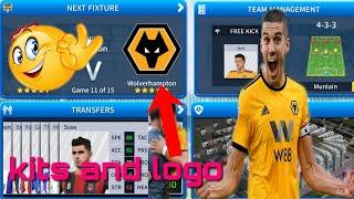 How to create Wolverhampton Team Kits & Logo 2019 | Dream League Soccer 2019