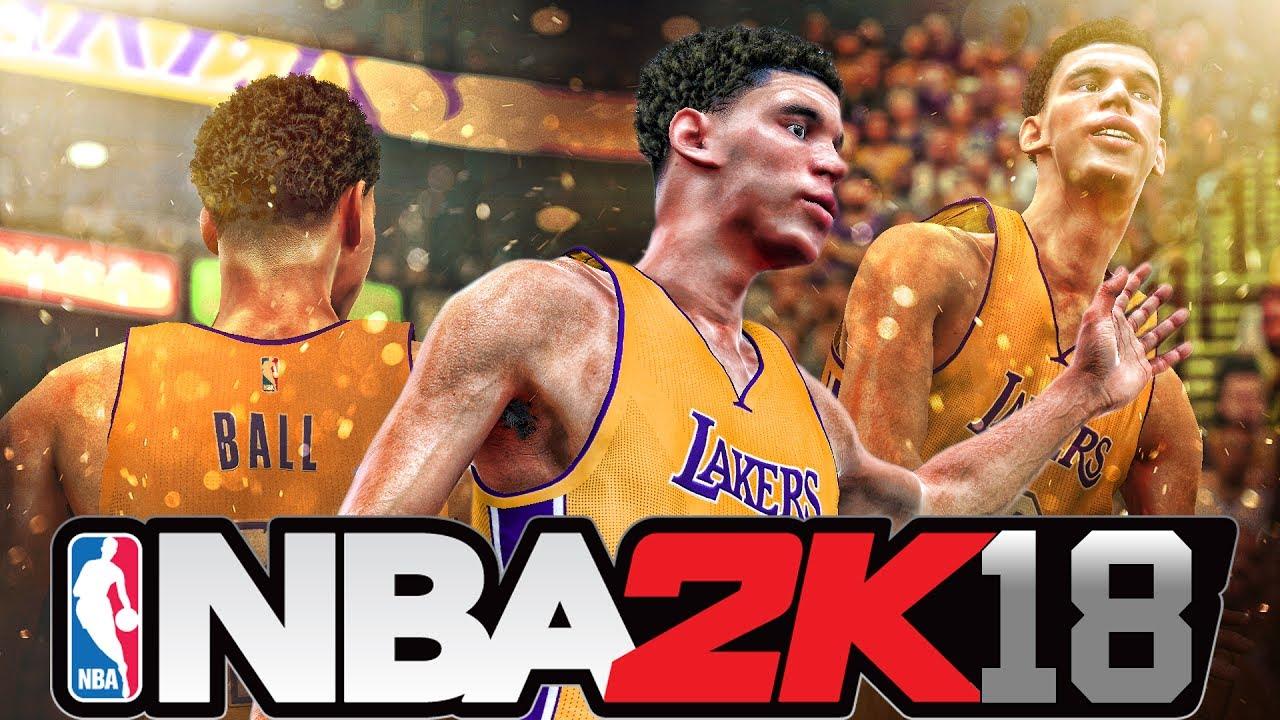 NBA 2K18 - Official Fan-Made Lonzo Ball Gameplay