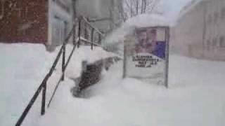 Gospić 01 - Pravi Lički snig 19.12.2009.MP4