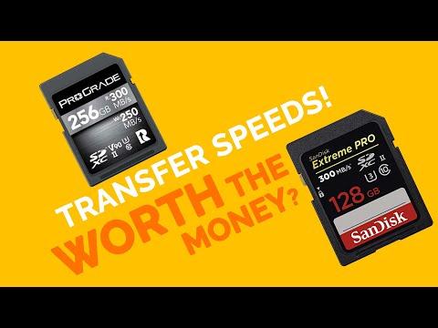 Prograde V90 Vs SanDisk Extreme PRO Memory Card