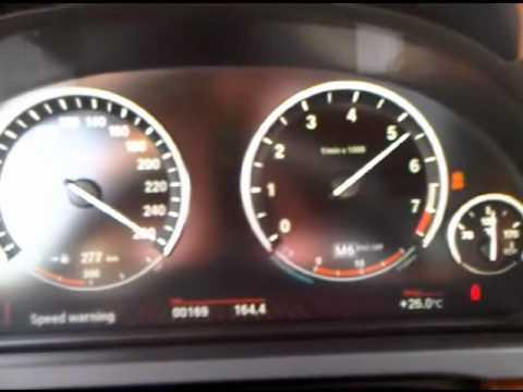 Bmw 750i F01 0 296 Kmh Pp Performance Youtube