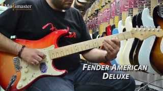 4 Fender Stratocaster: American Deluxe. American Special. Select. American Vintage