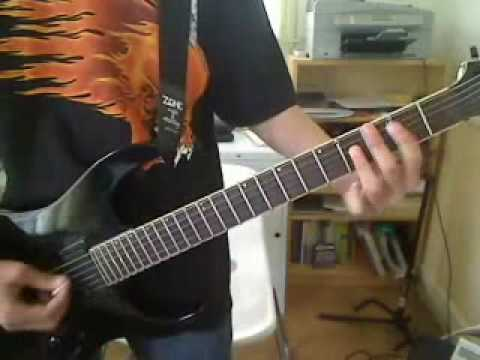 How to Play Dyers Eve Part 1: Intro and Main Riff