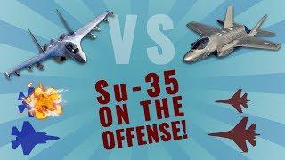 F-35 vs Su-35  (Part 1/2) ✔