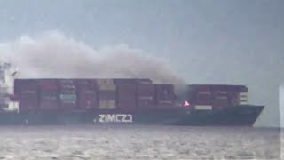 Canada, nave da carico prende fuoco al largo della costa: trasporta sostanze chimiche
