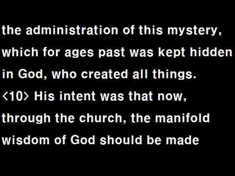 Text Audio Bible (T.A.Bible 113 / NIV) : Ephesians 1~6
