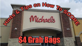 How To Score on Michael's $4 Grab Bags! This is how I do it 😯