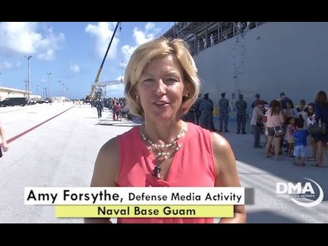 Sailors Return to Guam after 5-Month Deployment