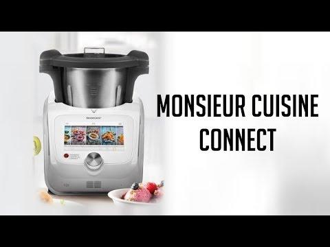 Nueva Monsieur Cuisine Connect Lidl Silvercrest Youtube