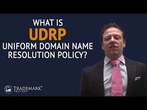 What Is UDRP Uniform Domain Name Resolution Policy? | Trademark Factory® FAQ