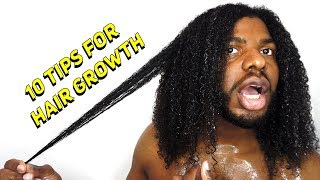 10 TIPS FOR NATURAL HAIR GROWTH