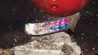 iPhone X Bowling Ball Bend Test!!