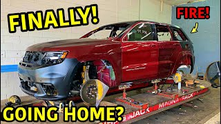 Rebuilding A Wrecked 2018 Jeep Trackhawk Part 10