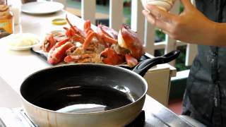 Cooking with Jimmy_mud crab in tamarind sauce