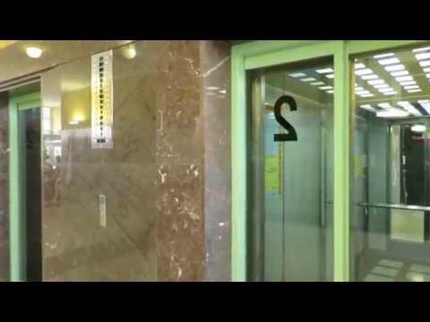 nice elevator indicator and elevator ride@Tomas Bata Skycraper, Zlin, Czech republic
