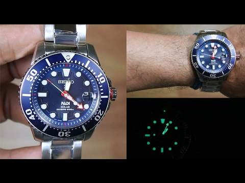 104cc0634 SEIKO PROSPEX SNE435P1 PADI DIVER SOLAR Blue Dial SPECIAL EDITION -  UNBOXING - YouTube