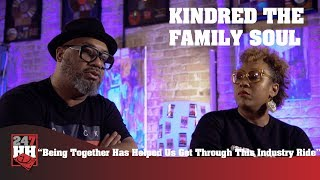 Kindred The Family Soul - Being Together Helps Get Through This Industry Ride (247HH Exclusive)