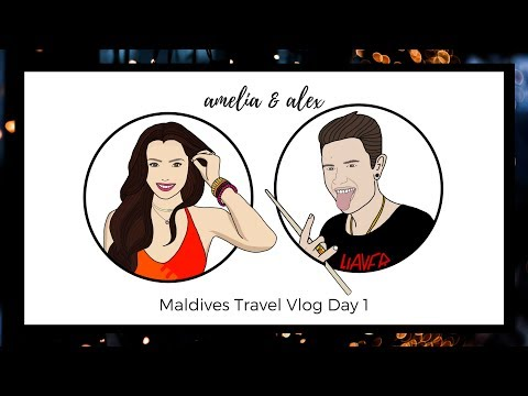 Wait.. We're Wandering Where?? : Maldives Travel Vlog Part 1