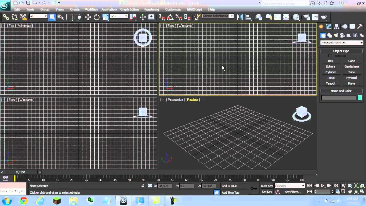Background image 3ds max viewport - Autodesk 3ds Max View Port Glitch Problem