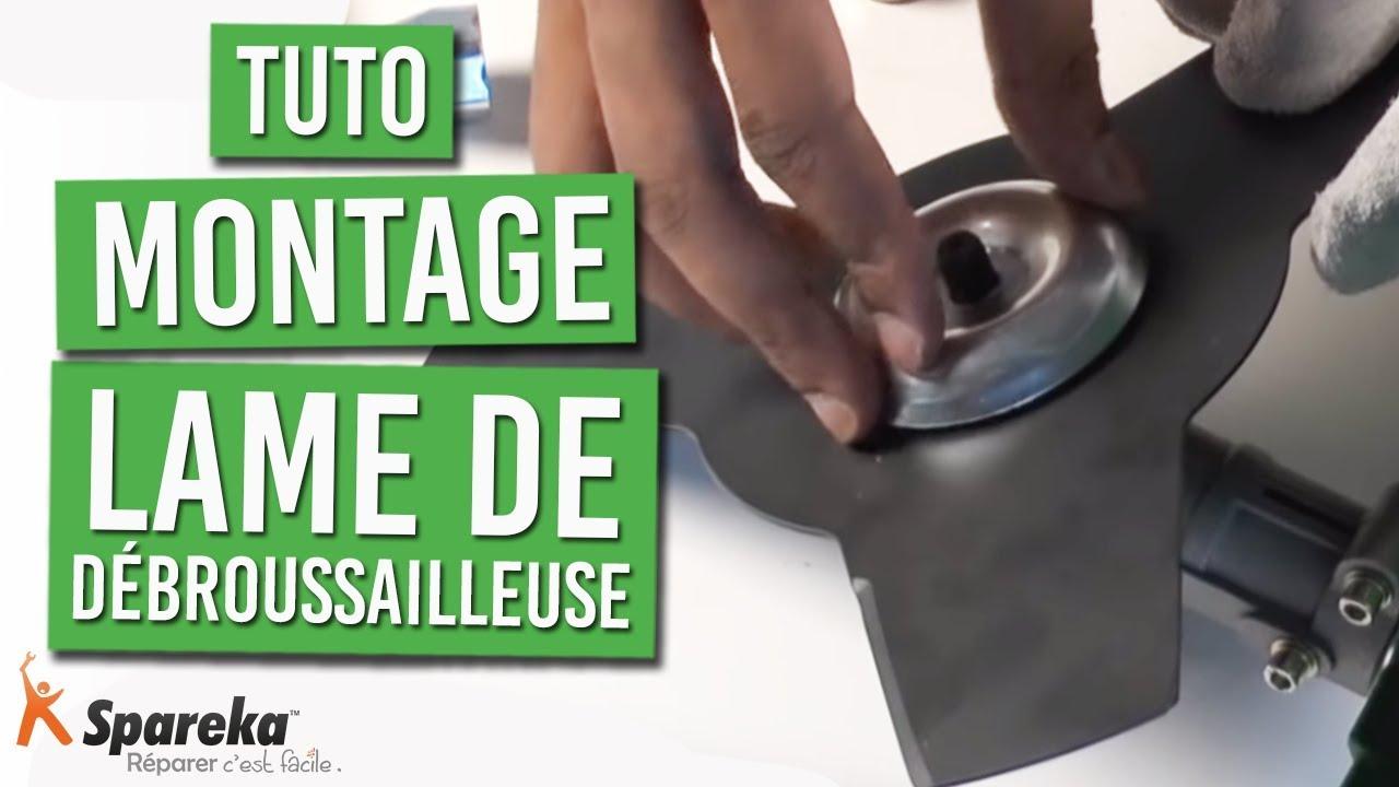 Remplacer la lame de d broussailleuse youtube - Lame robinier pour terrasse ...