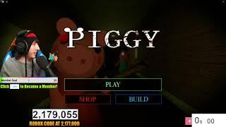 PIGGY WORLD RECORD SPEEDRUN.. (Chapter 1-12) | 🔴 Roblox Piggy LIVE